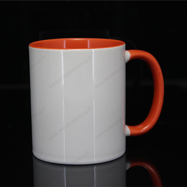 mug personnalis ilbus orange la maison du mug. Black Bedroom Furniture Sets. Home Design Ideas