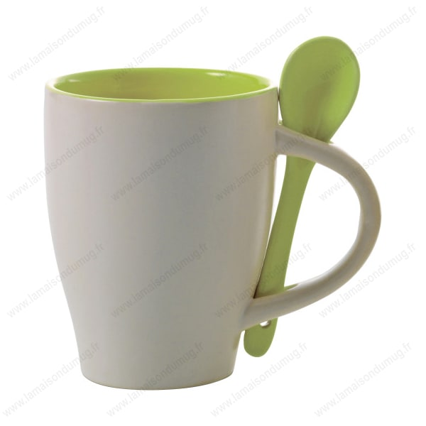 mug personnalis sugar vert pomme la maison du mug. Black Bedroom Furniture Sets. Home Design Ideas
