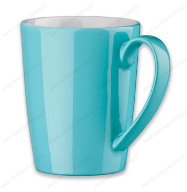mug personnalis bora cyan la maison du mug. Black Bedroom Furniture Sets. Home Design Ideas