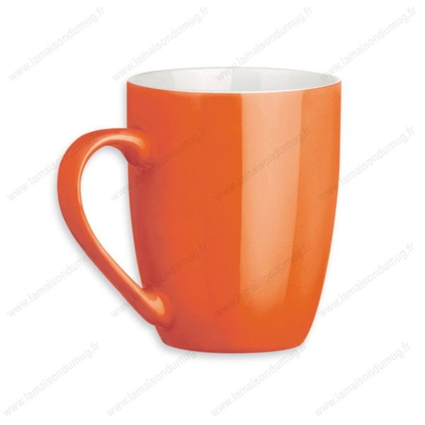 mug personnalis sandy orange la maison du mug. Black Bedroom Furniture Sets. Home Design Ideas