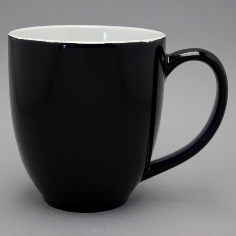 grand mug publicitaire noir grande tasse publicitaire personnalisable. Black Bedroom Furniture Sets. Home Design Ideas