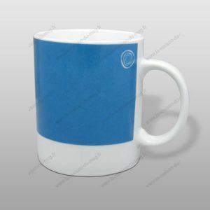 Mug personnalisé pantone turquoise