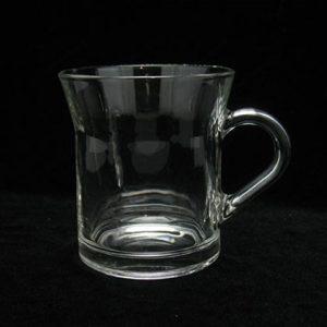 mug en verre sur-mesure