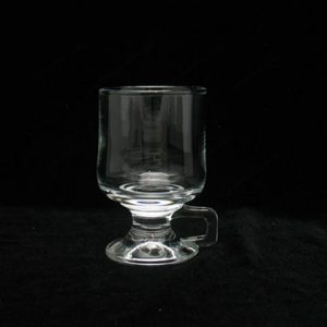 mug en verre transparent