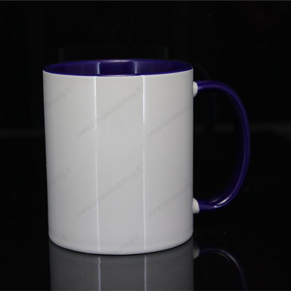 mug personnalisé ilbus bleu marine