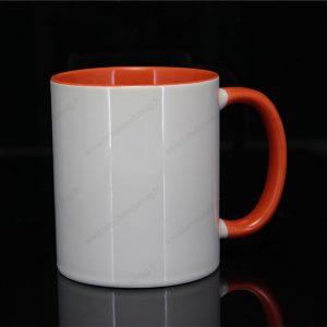 mug personnalisé ilbus orange