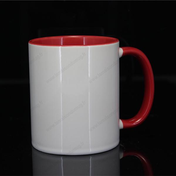 mug personnalisé ilbus rouge