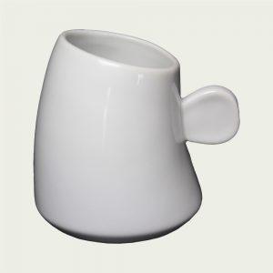 mug personnalisé laitiere blanc
