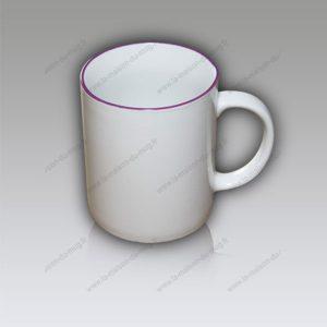 mug personnalisé liseré