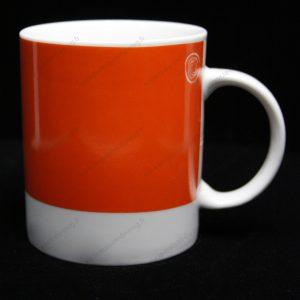 mug personnalisé pantone rouge