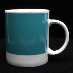 mug personnalisé pantone vert cassé