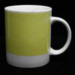 mug personnalisé pantone vert clair