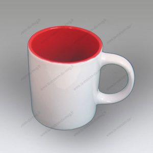 mug personnalisé rica rouge
