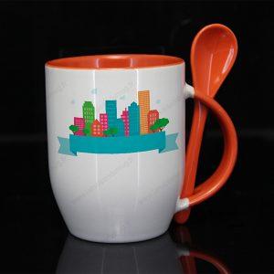 mug personnalisé subcouleur orange