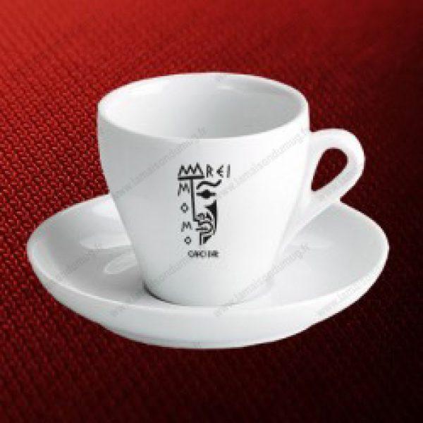 tasse publicitaire fine Cappuccino