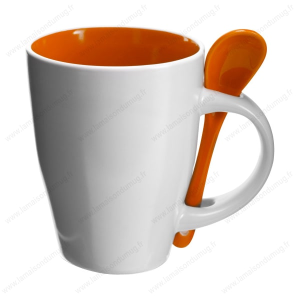 mug personnalis sugar orange la maison du mug. Black Bedroom Furniture Sets. Home Design Ideas