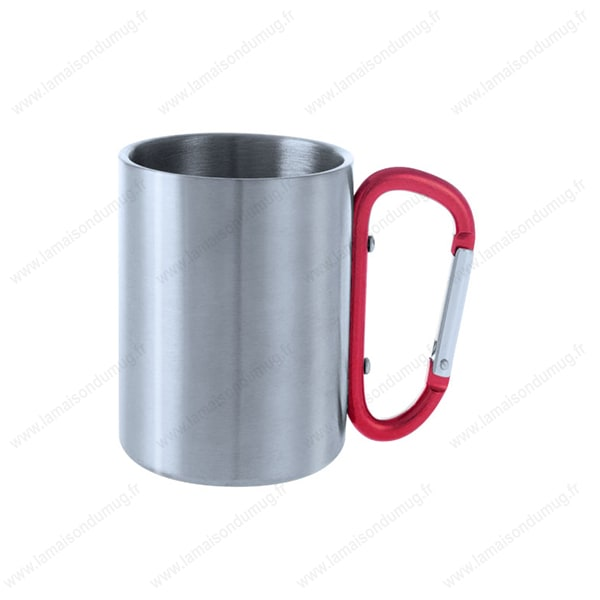 Personnalisé Personnalisable Métal Mug Publicitaire Isotherme nZ0P8wkNOX