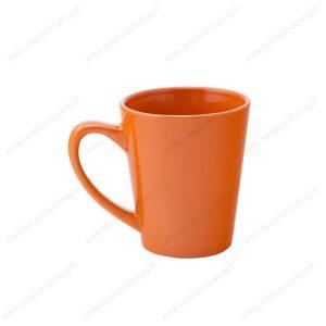 mug personnalisé alicia orange