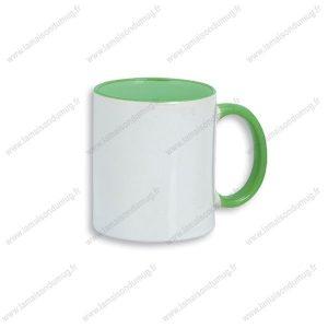 mug personnalisé dino vert