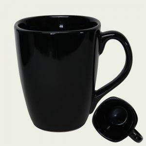 Mug publicitaire noir