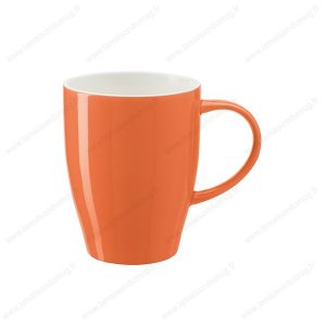 Mug personnalise cute orange