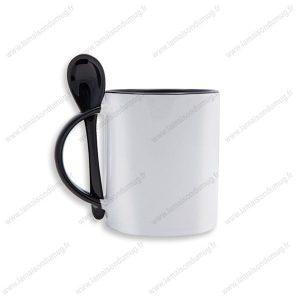 mug personnalisé festy noir