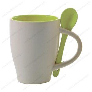 Mug personnalisé sugar vert-pomme