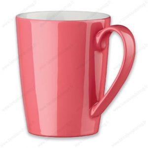 mug personnalisé bora rouge