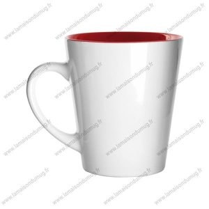 mug personnalisé hint rouge