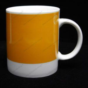 mug personnalisé pantone orange-1