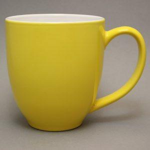 grand mug publicitaire jaune tournesol et tasse publicitaire