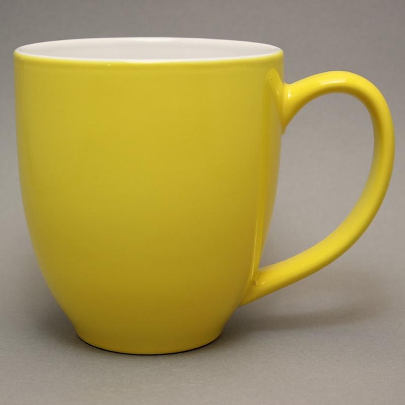 grand mug publicitaire jaune citron grande tasse publicitaire. Black Bedroom Furniture Sets. Home Design Ideas
