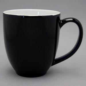 grand mug publicitaire noir et tasse publicitaire