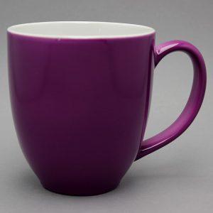 grand mug publicitaire rose violine et tasse publicitaire