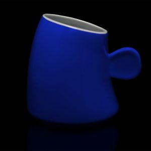 mug personnalisé laitiere cobalt
