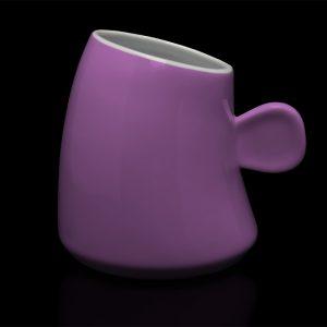 mug personnalisé laitiere rose