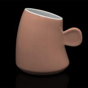 mug personnalisé laitiere saumon