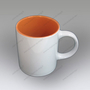 mug personnalisé rica orange