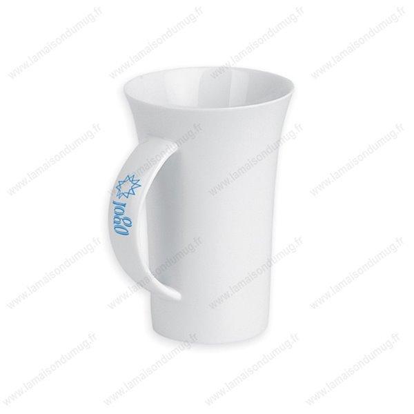 mug publicitaire tendance blanc