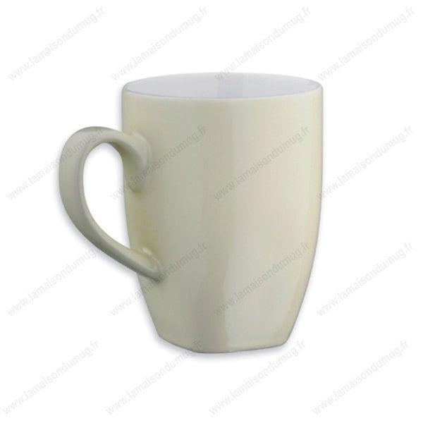 mug personnalisé maxi beige