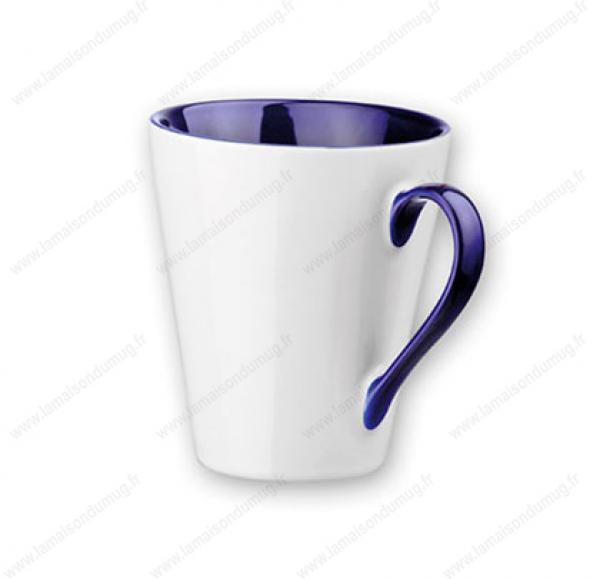 mug personnalisé marie bleu