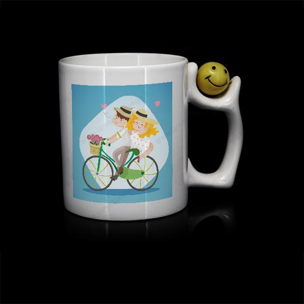 mug personnalisé sublimation Smiley