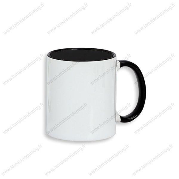 mug personnalisé dino noir