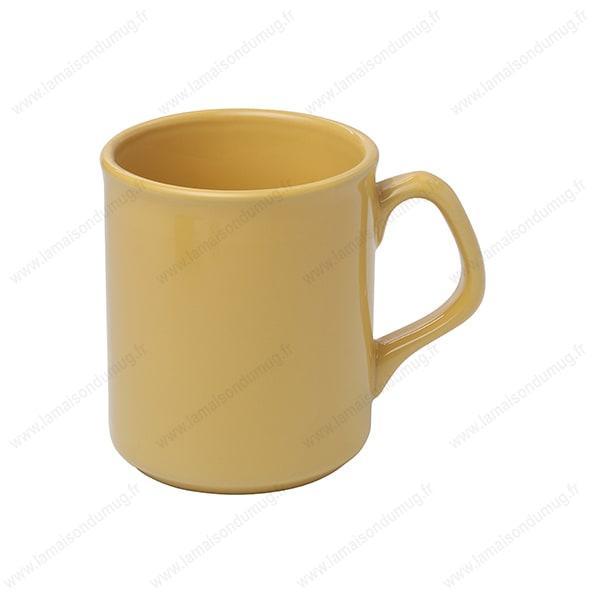 Mug personnalisé Design jaune