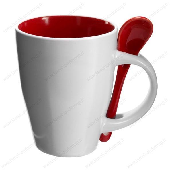 Mug personnalisé sugar rouge