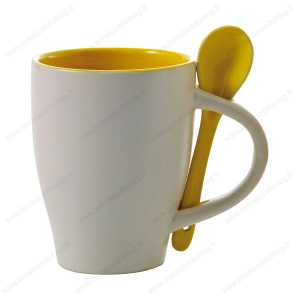 Mug personnalisé sugar jaune