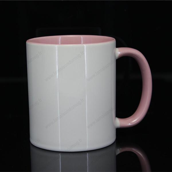 mug personnalisé ilbus rose