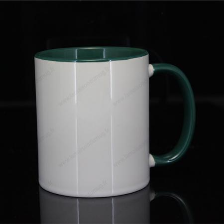 mug personnalisé ilbus vert