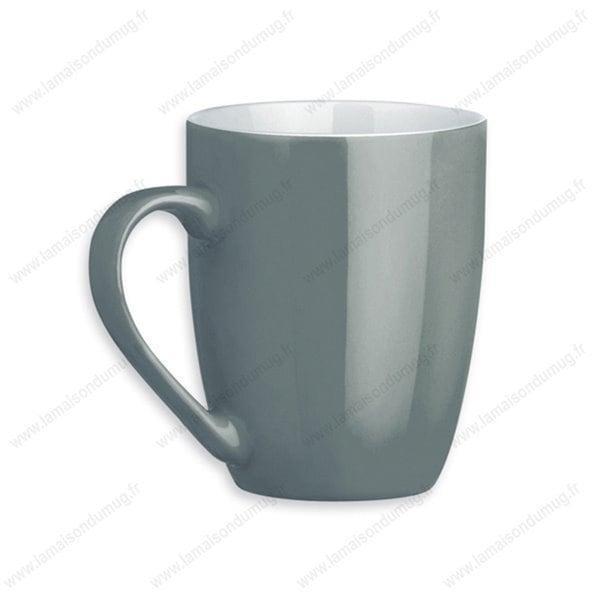 mug personnalisé sandy gris