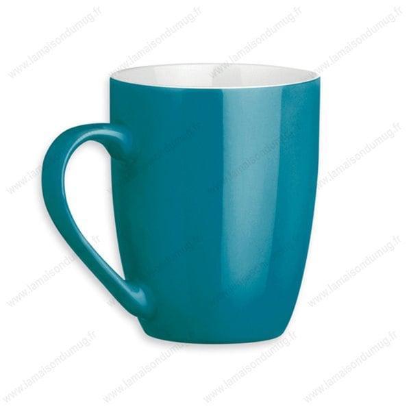 mug personnalisé sandy turquoise